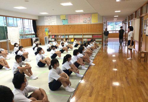 6/8 つむぎ「部活動壮行会計画」