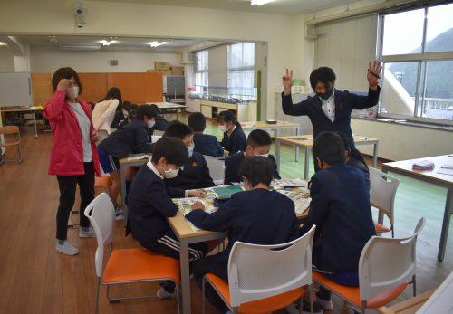 授業の様子 5年英語
