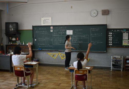 授業の様子 6年算数