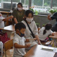 授業参観と学級懇談会